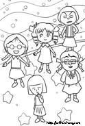 たまちゃん、城ヶ崎さん、みぎわさん、前田さん、野口さんサムネイル
