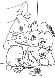 すみっコぐらし クリスマスサムネイル