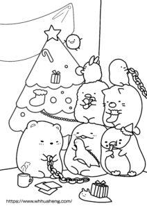 すみっコぐらし すみっコたちのクリスマスサムネイル