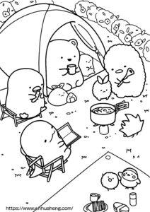 すみっコぐらし お庭キャンプ日和サムネイル