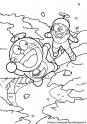 のび太とドラえもん タケコプターで空からお花見サムネイル